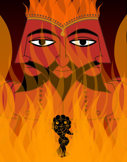 Sita and Agni