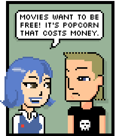 Movies Want To Be Free