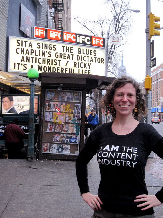 Sita Sings the Blues at the IFC Film Center, New York Dec. 25 2009
