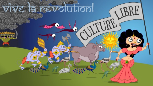 Vive la Revolution! Culture Libre