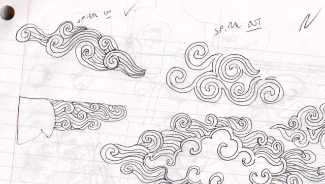 spiral doodles