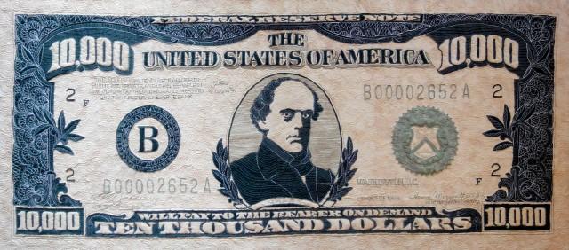Bargain (Ten Thousand Dollars)  $10,000 quilt
