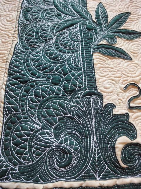 $10,000 quilt detail 3