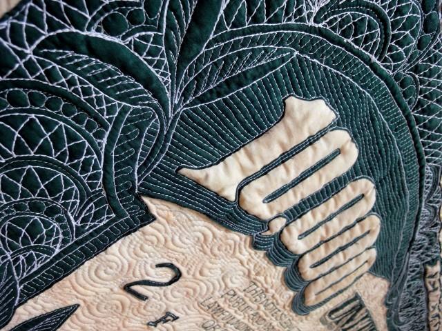 $10,000 quilt detail 4