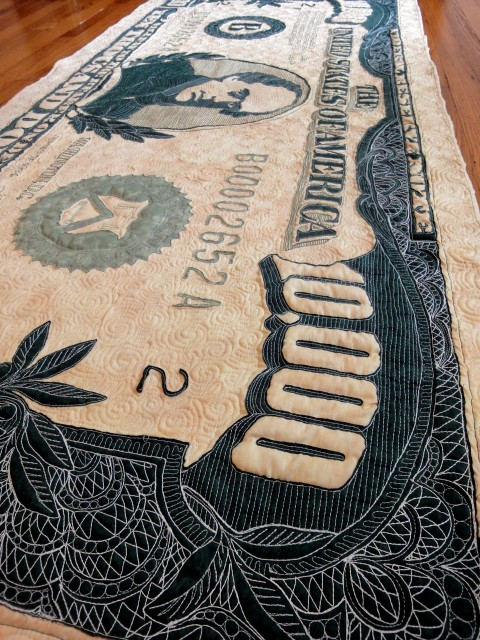 $10,000 quilt detail 6