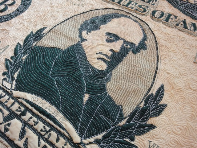 $10,000 quilt detail 8