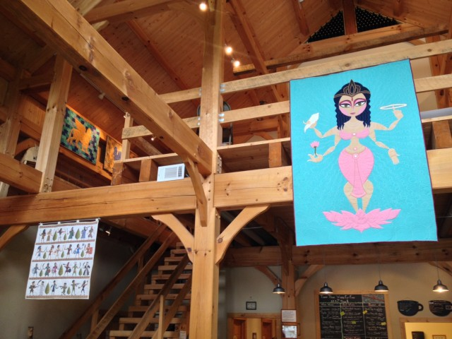 Art Quilts & Animation at Sleepy Creek Vineyards