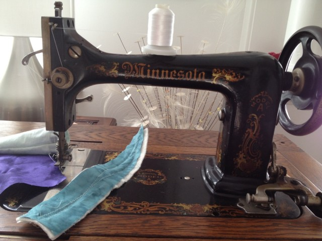 Minnesota A sewing machine