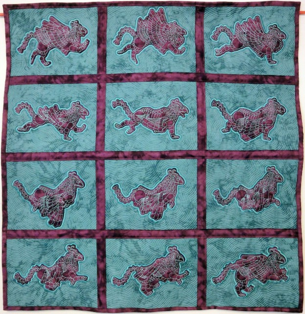 quilted animation, animated quilt