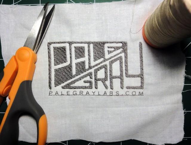 PaleGray Labs embroidery