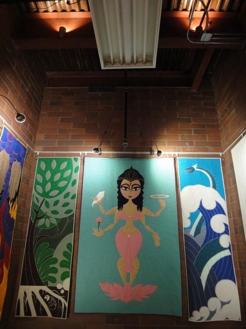 QuiltVault Laxmi ceiling