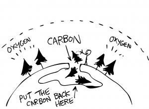 Figure 5: Put the carbon back in the earth