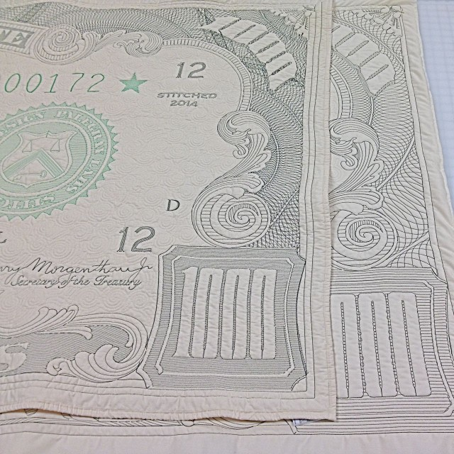 Laundered and unlaundered money