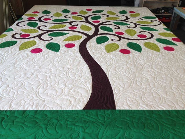 Tree Applique Quilt 171 Nina Paley S Blog