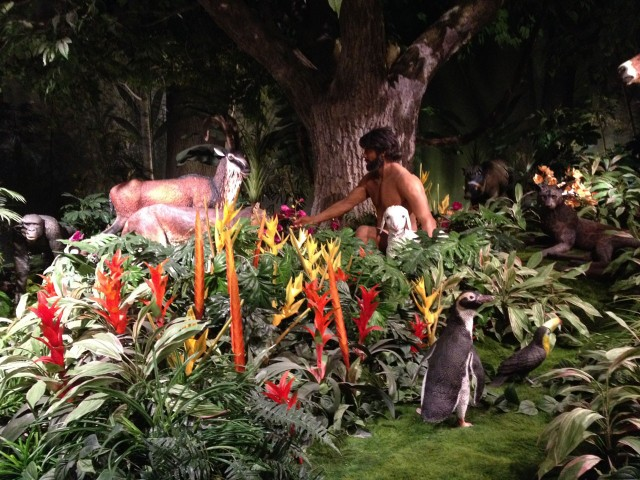 The garden of eden was home to penguins...