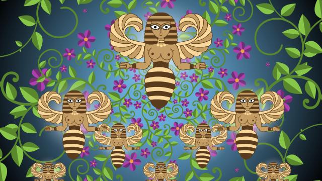 Woman07.1.2_bees