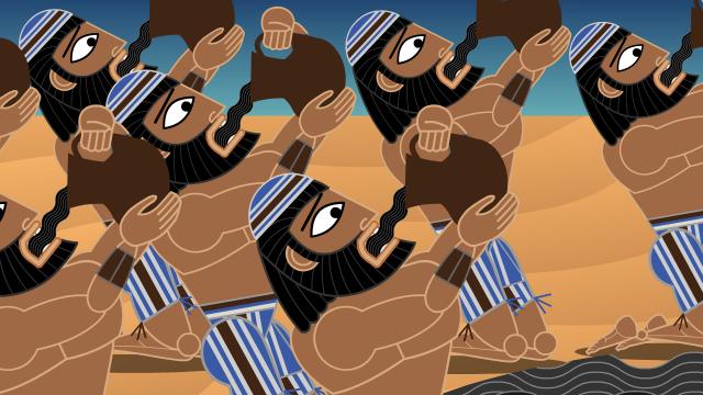 Hebrews drink