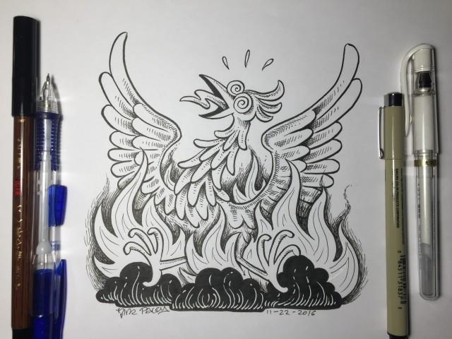 2016-11-22 PhoenixDeath pens