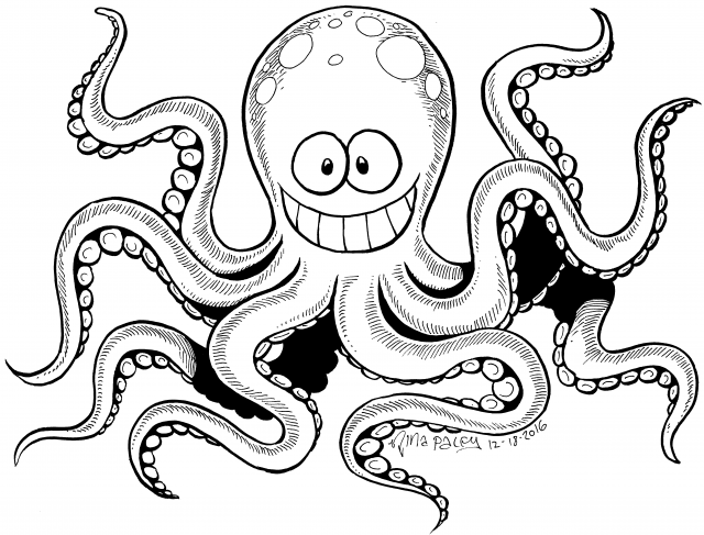 Amiable Octopus