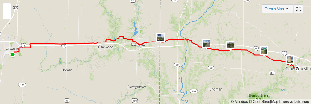 Urbana IL to Crawfordsville IN on a Folding Bike – Nina Paley on edwards illinois map, de soto illinois map, little egypt illinois map, hammond illinois map, creek illinois map, clayton illinois map, marion illinois map, cayuga illinois map, illinois national parks map, mossville illinois map, hudson illinois map, morton illinois map, illinois illinois map, brownsville illinois map, hanna city illinois map, pekin illinois map, arcadia illinois map, iroquois illinois map, peoria illinois map, canton illinois map,