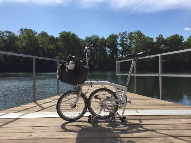 Kickapoo State Park, where I refilled my water bottles. I drank over a gallon of water on this ride.